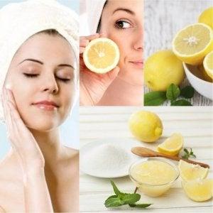 Citron som en naturlig kosmetika