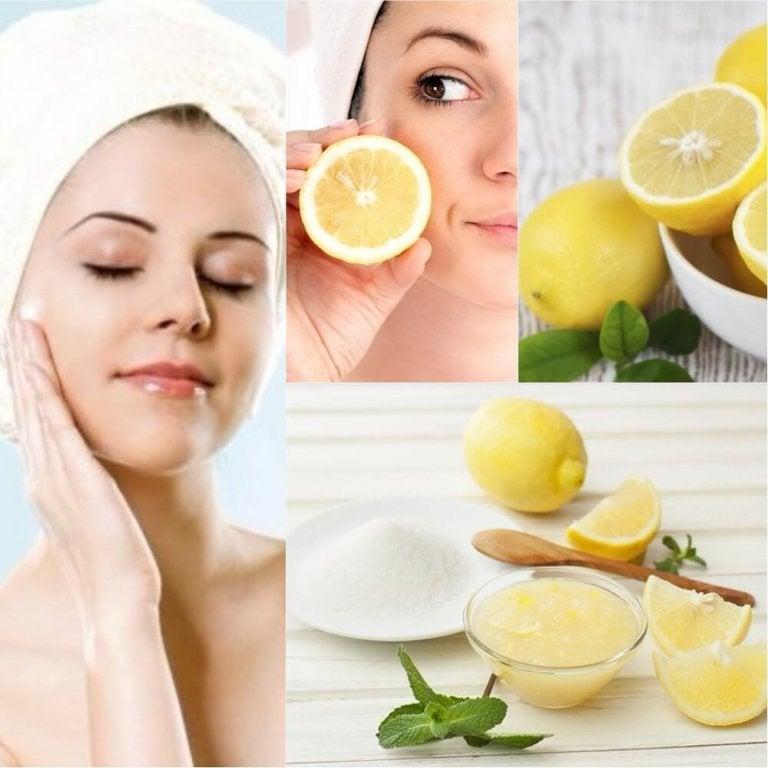 6 sätt att använda citron som en naturlig kosmetika