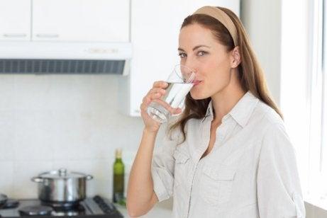 3 liter vatten om dagen