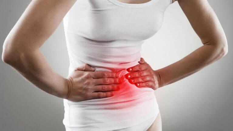 Brännande i magen kan vara ett symptom på gastrit