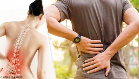 6 hälsoproblem som orsakar ryggsmärta