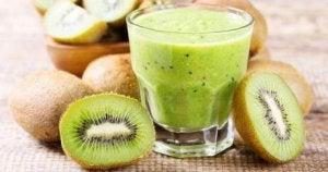Kiwijuice innehåller antioxidanter