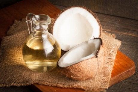 Kokosolja motverkar blåsor