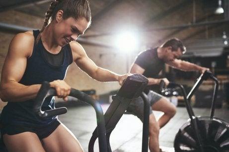 Lätt, regelbunden träning