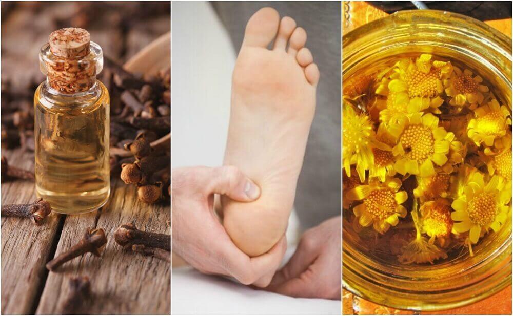 Lindra smärta i hälen med 6 naturliga kurer