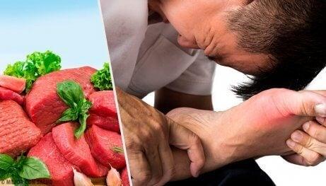 7 livsmedel som höjer dina urinsyranivåer