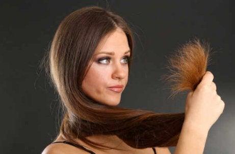 Motverka skada på håret
