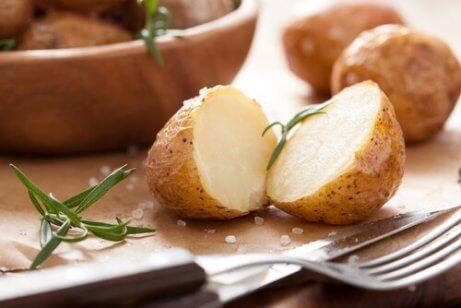 Potatis med umeboshi