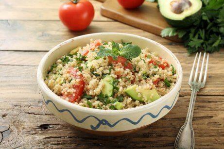 Quinoa är mycket nyttigt