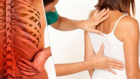 Lär dig hur ryggraden påverkas av stress