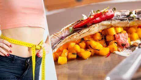 7 tillfredsställande middagar för att gå ner i vikt