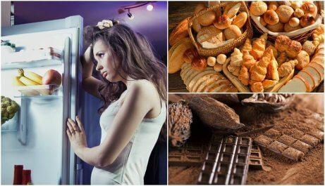 10 saker du inte ska äta innan läggdags