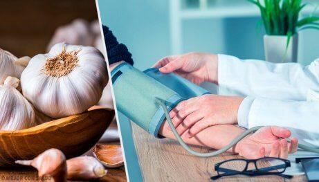 Hur man använder vitlök för att behandla hypertoni