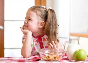 Barn med dålig aptit