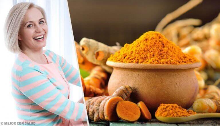 7 fördelar med gurkmeja under klimakteriet