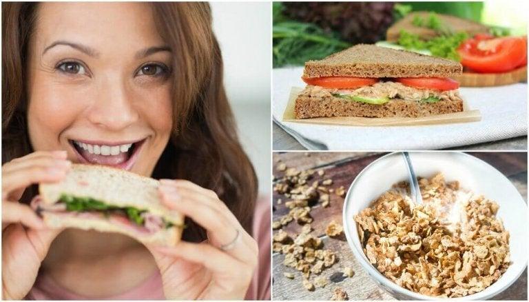 5 hälsosamma frukostar att börja dagen med