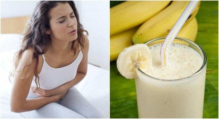 Potatis- och banansmoothie som lindrar magsår