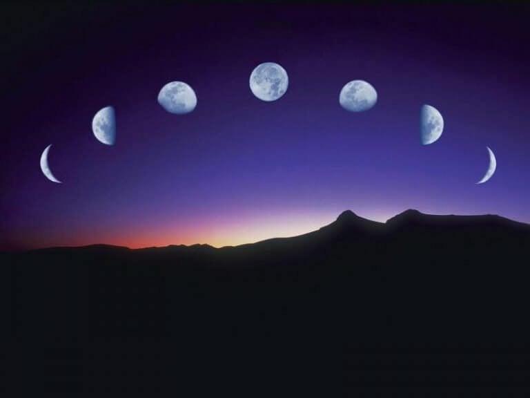Månen påverkar människor: månfaserna som guide