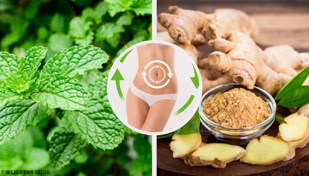 Dryck med mynta & ingefära som aktiverar din metabolism
