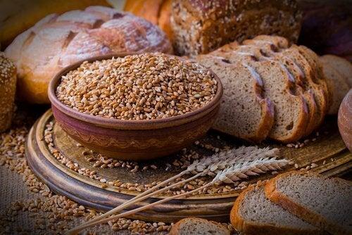 Olika sorters bröd