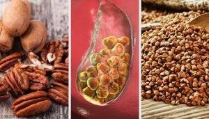 Livsmedel som bekämpar gallsten