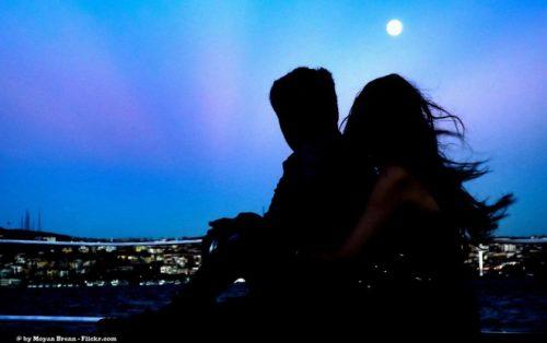 Par-under-månen
