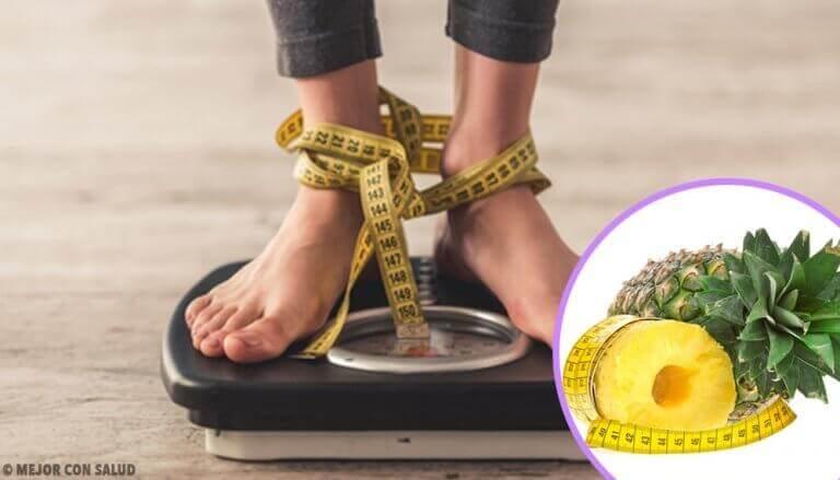 Gå ner i vikt med ananasskal: vi berättar hur