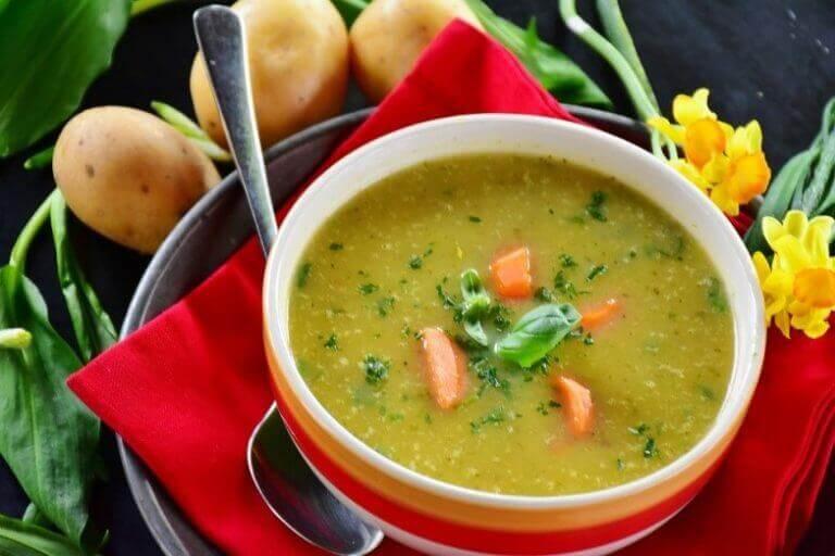 Soppa med morötter