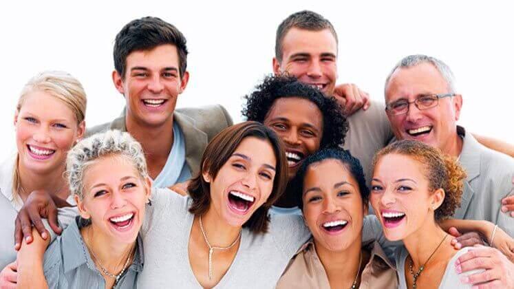 Glada människor kan få dig att sluta vara dyster