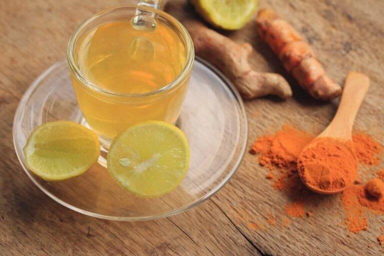 Drick infusioner för att detoxa lymfsystemet