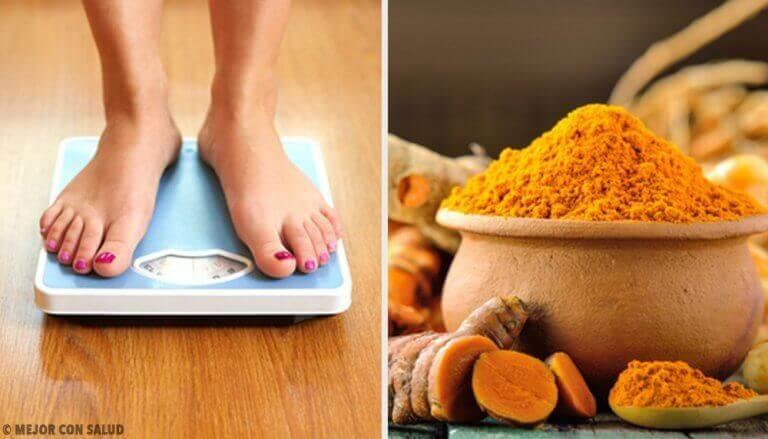 Lär dig att tappa vikt med gurkmeja