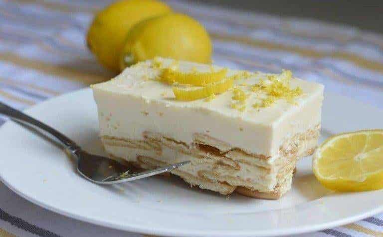 Citroncharlotte - En dessert för kungligheter