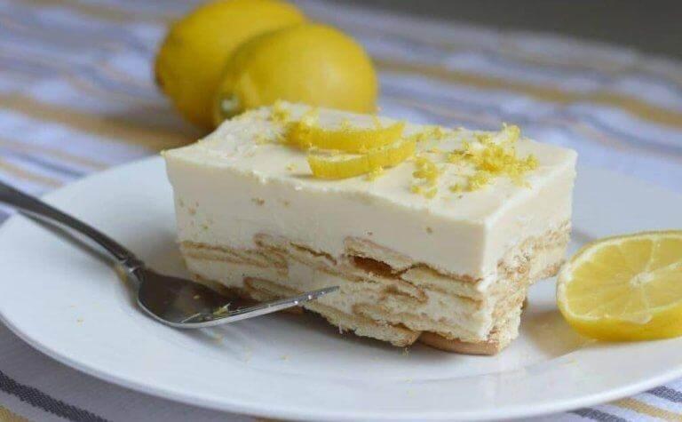 Citroncharlotte är drottningarnas dessert