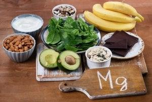 Mat med magnesium