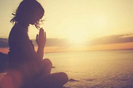 Mediterande kvinna