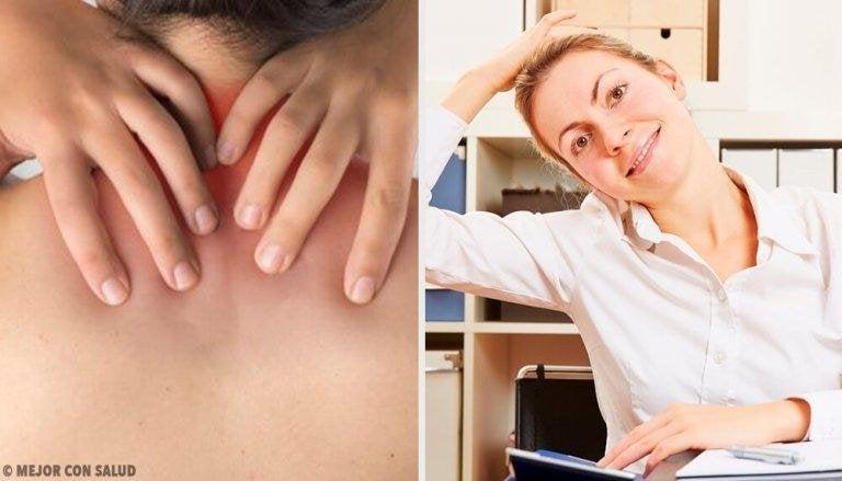 Enkla övningar mot ont i nacken: tips och kurer