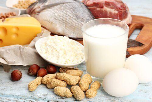 Se till att äta protein