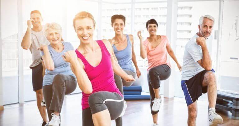 Träning är bra vid alla åldrar