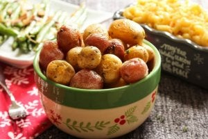 Ugnsbakad potatis