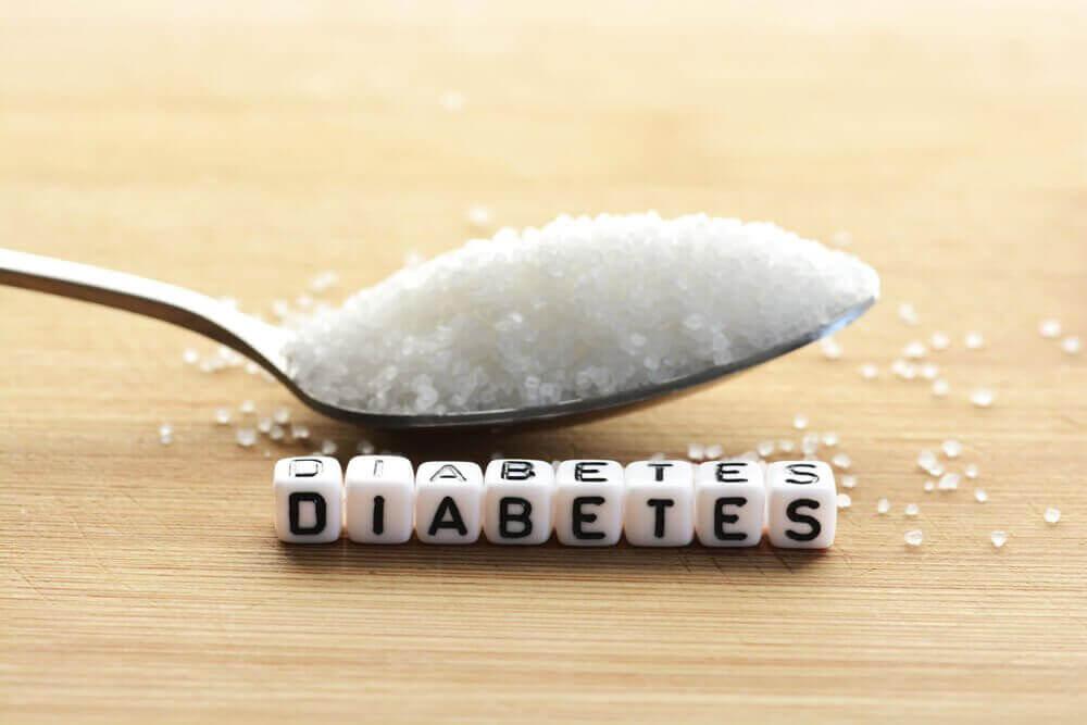 tärningar som stavar diabetes