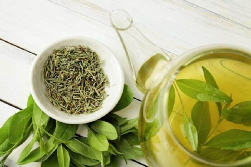 Grönt hälsosamt te