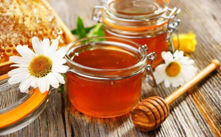 Honung är desinficerande