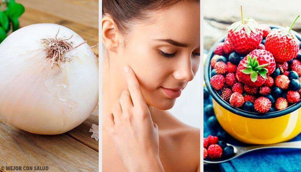De 8 livsmedel som ger huden mest kollagen