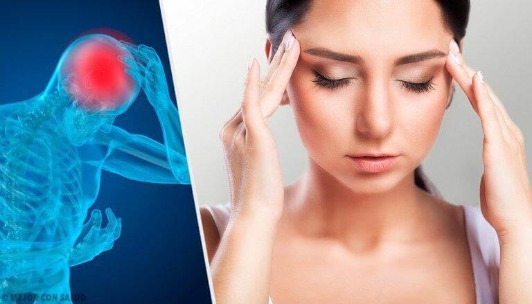 Fem vanliga orsaker till huvudvärk