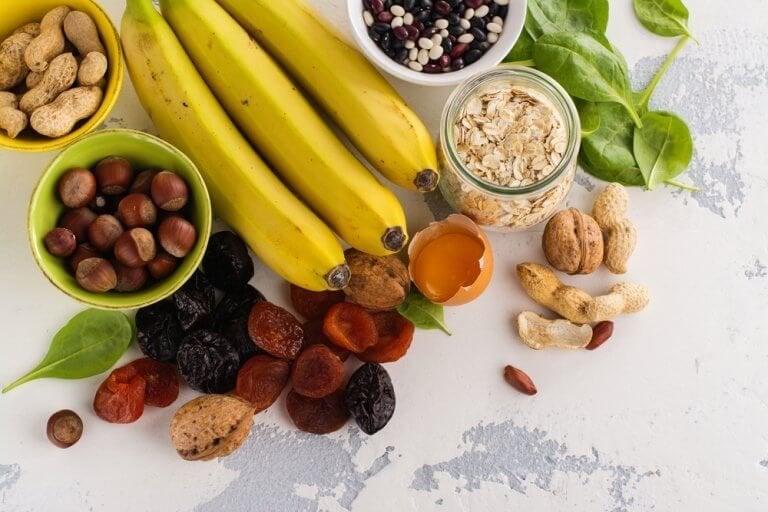 Bästa livsmedlen som innehåller mycket kalium