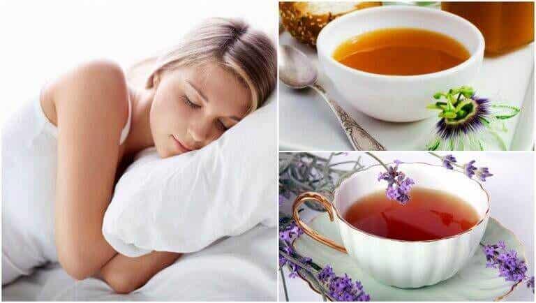 5 teer som kan hjälpa dig att sova bättre