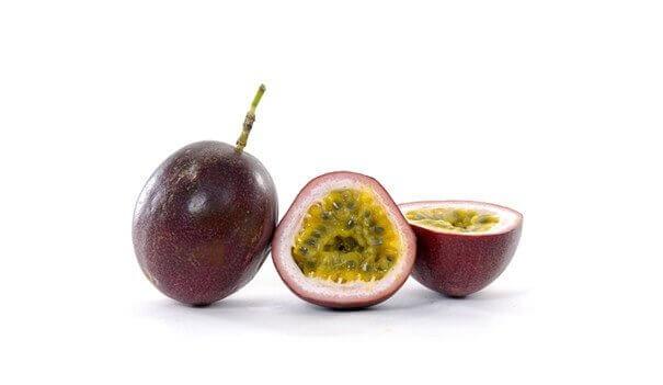 Skivad passionsfrukt