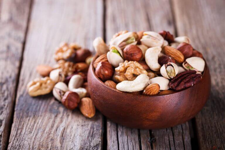 Ät inte för mycket nötter