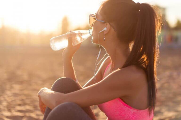 Drick kallt vatten