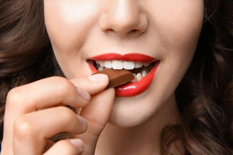 choklad kan förbättra humöret